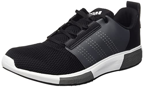 adidas Men's Madoru 2 M Running Shoes, Black/Grey (Negbas/Negbas/