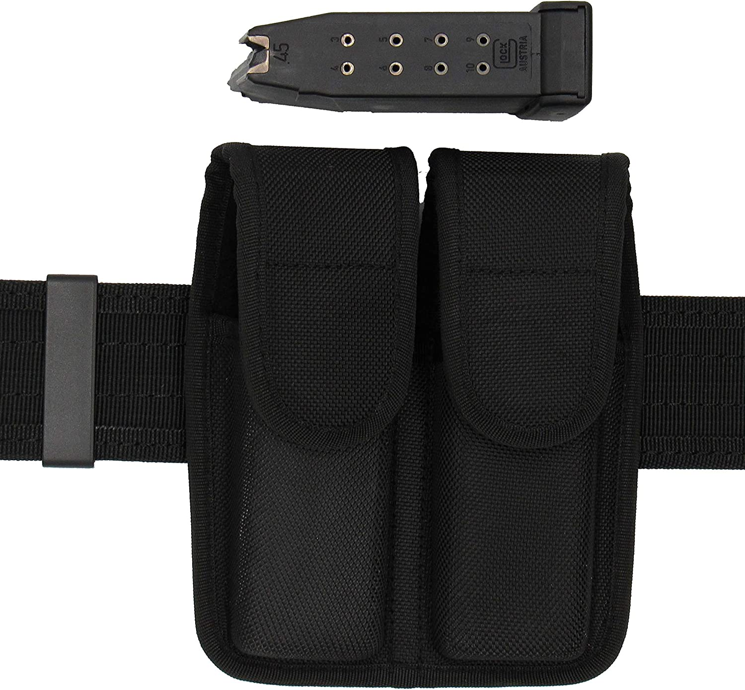 King Holster Double Magazine Pouch Fits Glock .40 Cal Mags Models 22 23 24 27 35