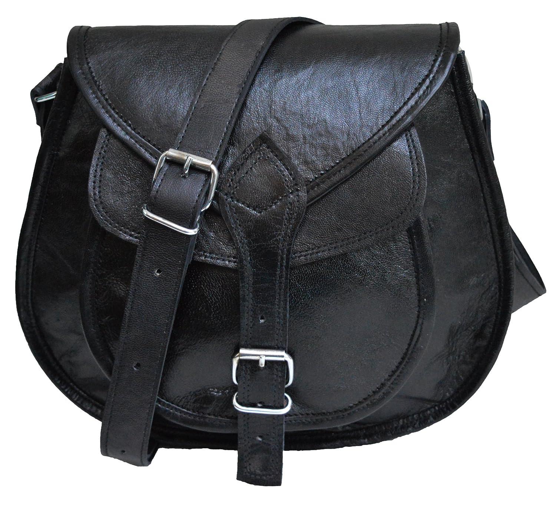 231420cb0 Amazon.com: Leather purse for women satchel tote bag handbad saddle bag  cross body shoulder bag gift for girls (Black): Computers & Accessories