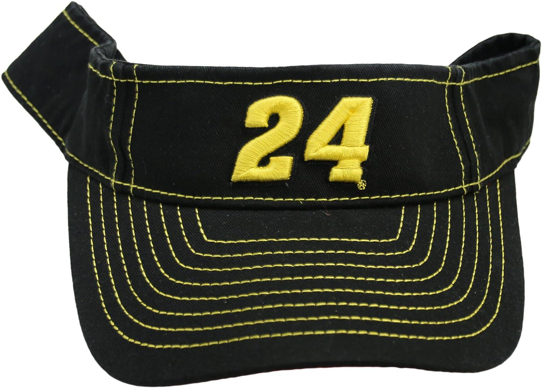 NASCAR Jeff Gordon #24 Adjustable Visor Black