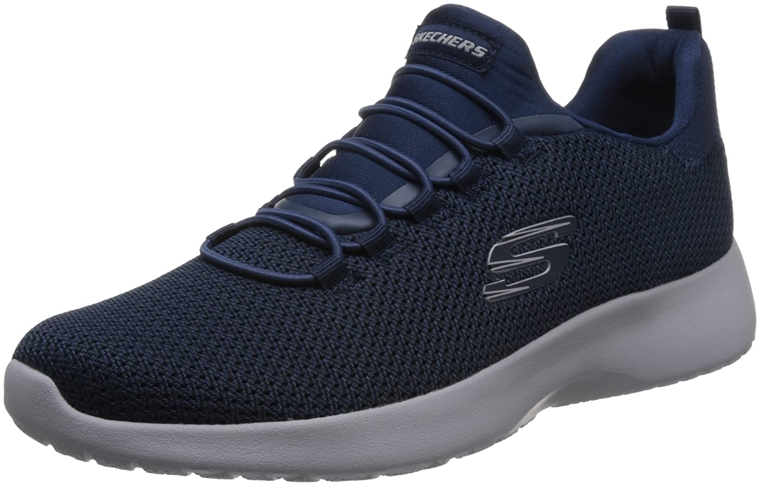Skechers Dynamight Mens Casual Sport Trainer  46 EU|Marineblau