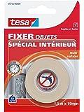 Tesa 55755-00000-00 Fixer Objets Spécial Intérieur 1,5 m x 19 mm
