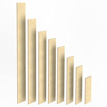 100mm Holz Bretter 18mm Multiplex Brett Zuschnitte Längen 1m 2m