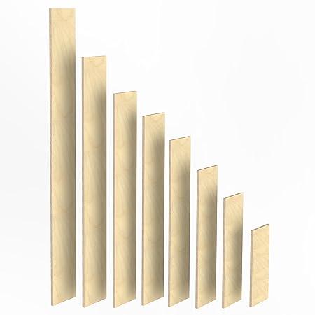 150mm Holz Bretter 18mm Multiplex Brett Zuschnitte Langen 1m 2m