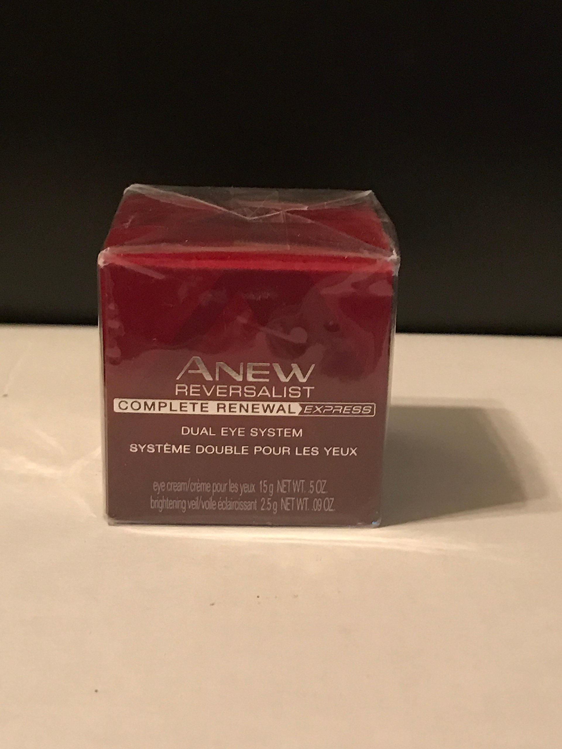 Avon Anew Reversalist Complete Renewal Express Dual Eye System