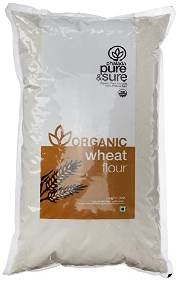 Pure & Sure Organic Wheat Flour, 5kg