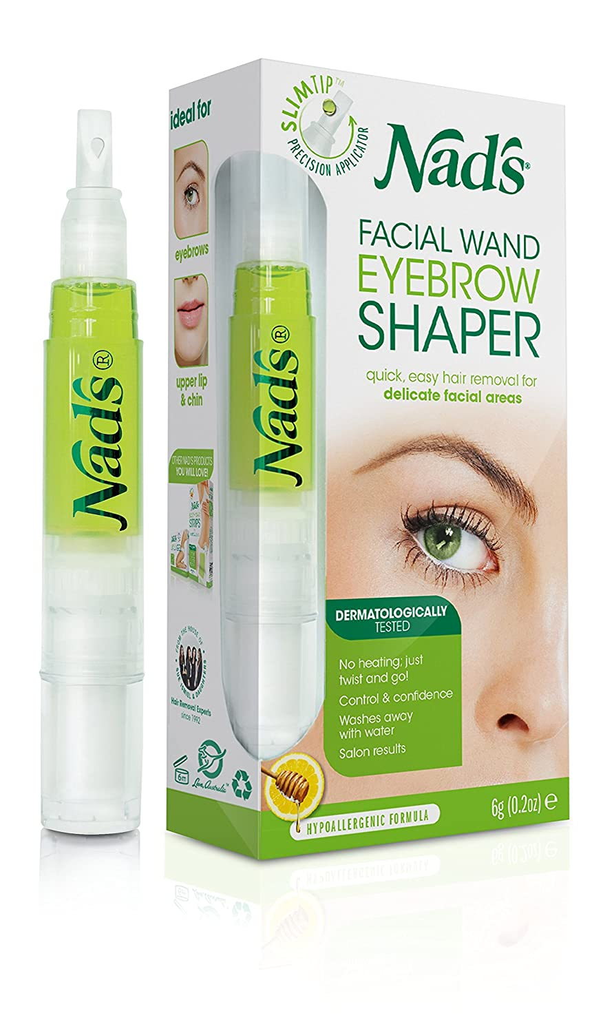 Nad's Eyebrow Shaper, Facial Wand Nad' s Eyebrow Shaper Lifesource Group US Inc. 677