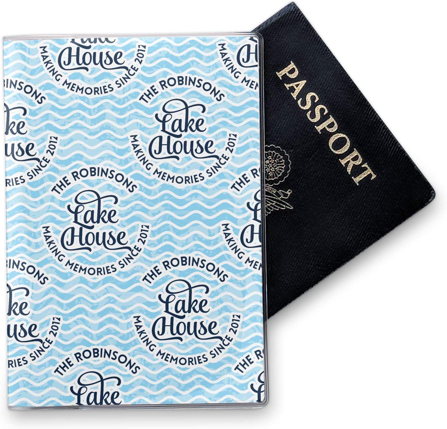 Personalized Lake House #2 Vinyl Passport Holder