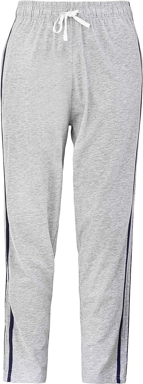 Mens 100/% Cotton Lounge Wear Pants Nightwear Pyjama Bottoms Sleepwear M-XXL