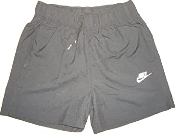 ShortKurze Hose Jersey Swoosh Schwarz 100Polyester Nike 2I9EHWD