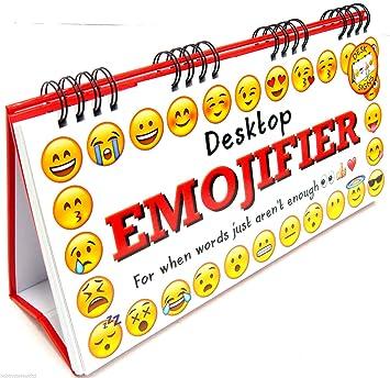 Excellent Desktop Emojifier Pictorial Message Flip Book Desk Emoji Download Free Architecture Designs Scobabritishbridgeorg