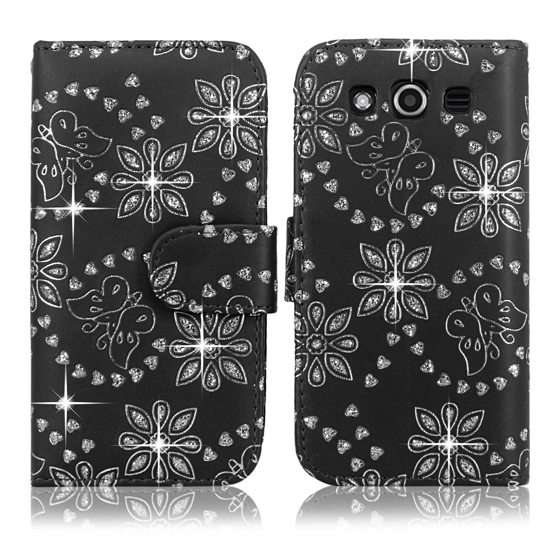 Samsung Case Cellularvilla Leather T Mobile Glitter Image 2