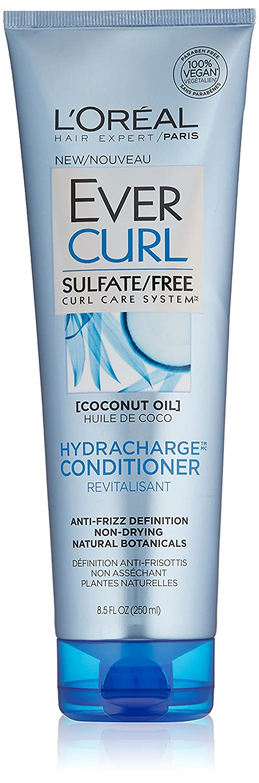 L'Oréal Paris EverCurl Hydracharge Conditioner Sulfate Free, 8.5 fl. oz.