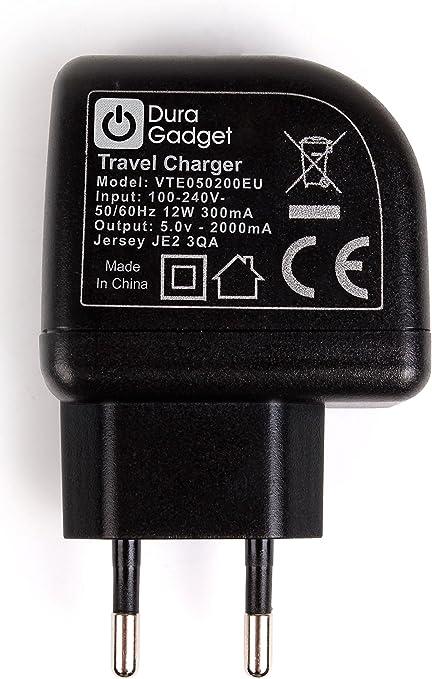 DURAGADGET Chargeur Secteur pour GPS Tom Tom Via 52 et 62