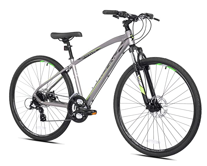 700c Giordano Brava Hybrid Comfort Bike, Small, Silver best hybrid bikes