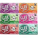 Glee Gum 6-Flavor Variety pack, 16-Piece Packages (12 Total Packages)
