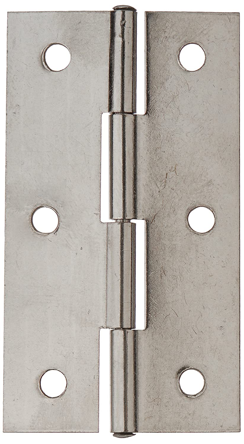 2.6 Polished Stainless Steel Home Door Butt Hinges Pair