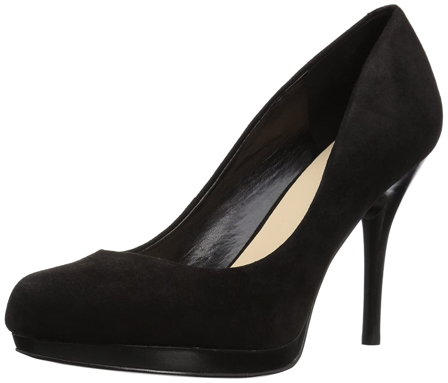 Nine West Women's Kristal Suede Dress Pump B01N2PK8P1 12 B(M) US|Black