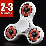 LYNEC Fidget Spinner - Hand Spinner EDC ADHD Focus,Ultra Durable Hight Speed Bearing,1-3 Mins Spins