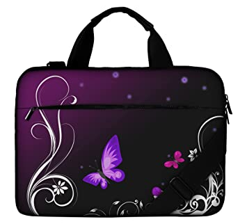 Silent Monsters Laptop bag case 17.3 inch made of Canvas with pocket for  accessories 347dae054792d