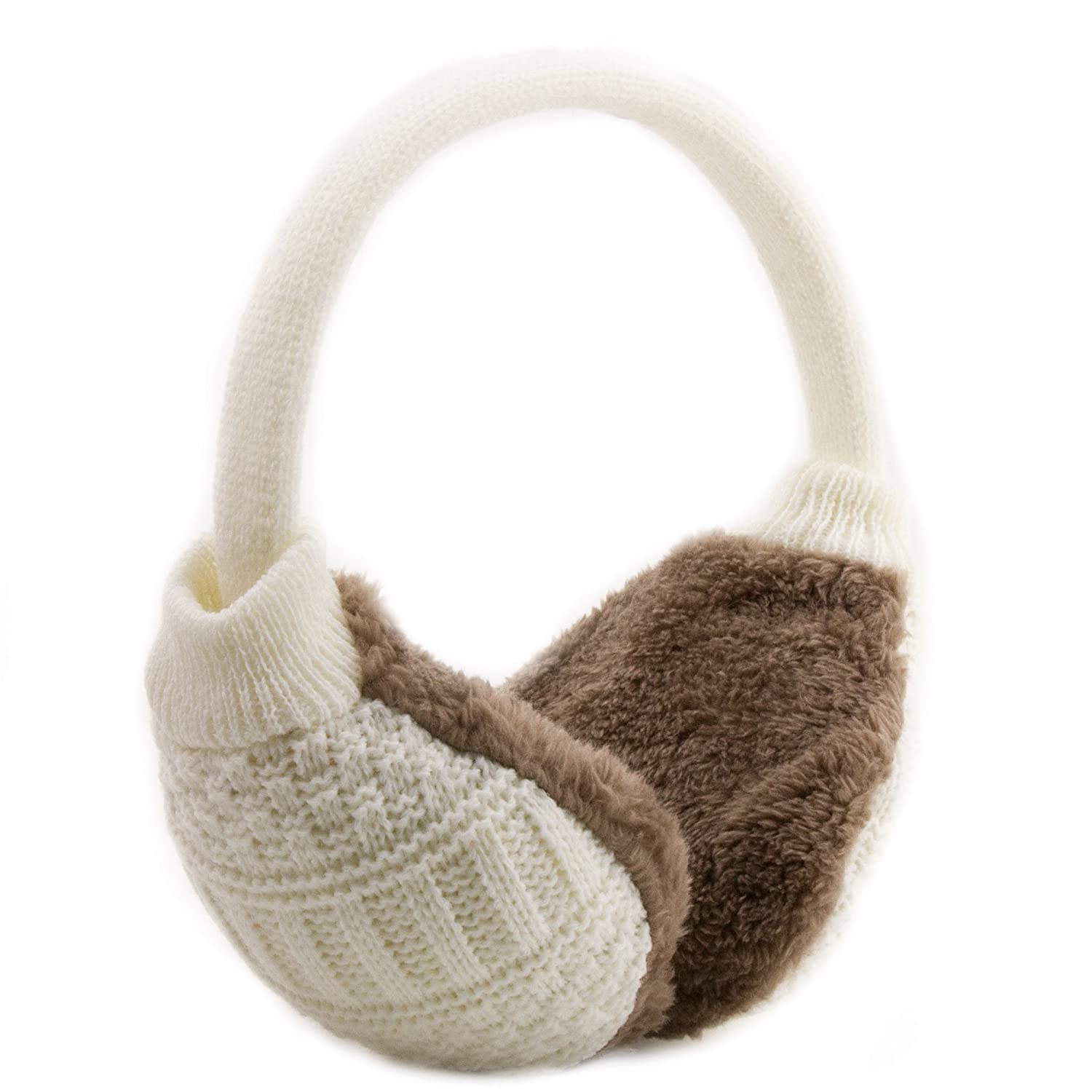 Metog Adult Knitted Removable Warm Winter Earmuffs