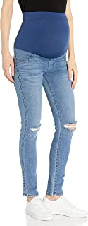 product image for James Jeans Women's Twiggy Maternity External Band Ankle Skinny in Throwback
