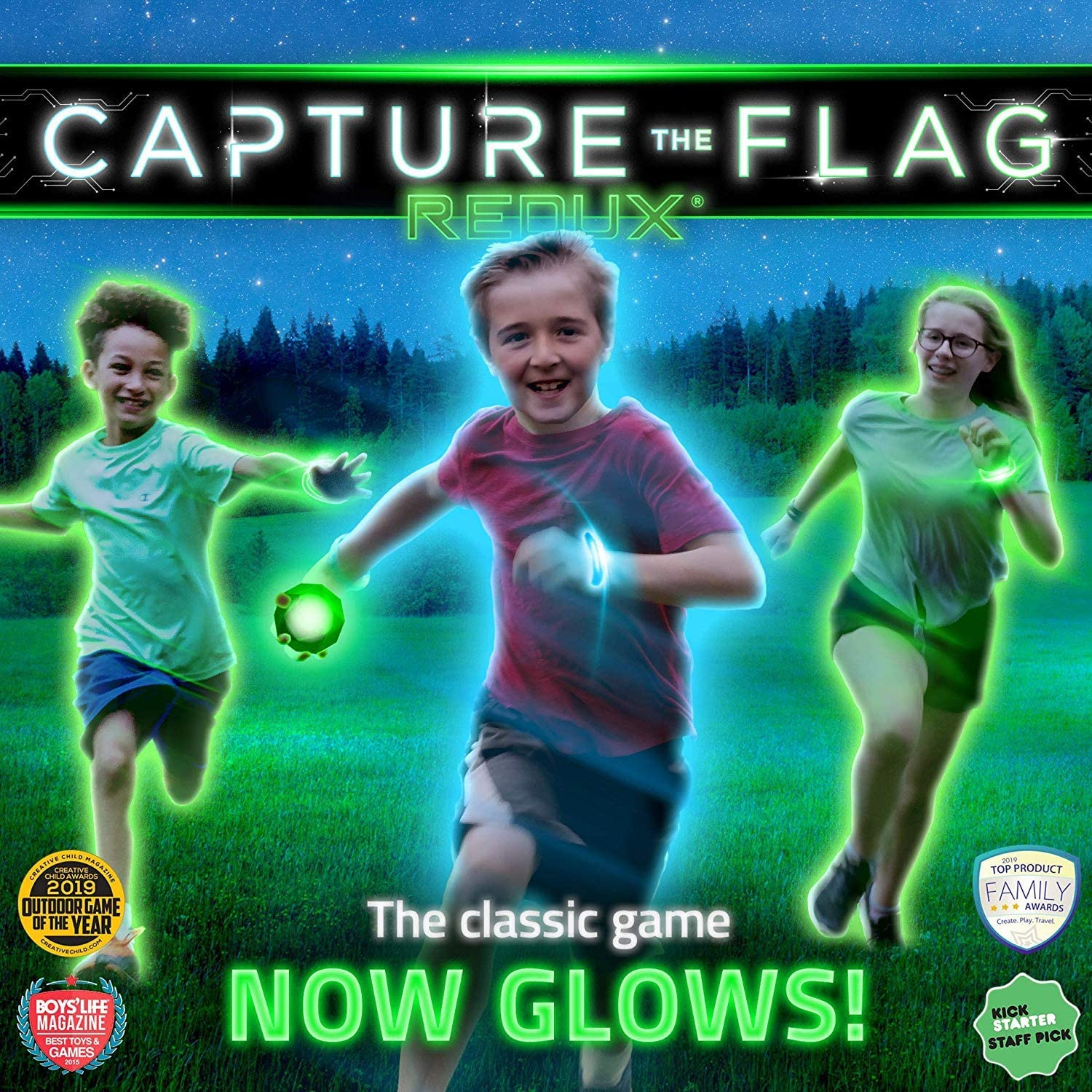 Kids Glow-in-the-dark Game for Camping