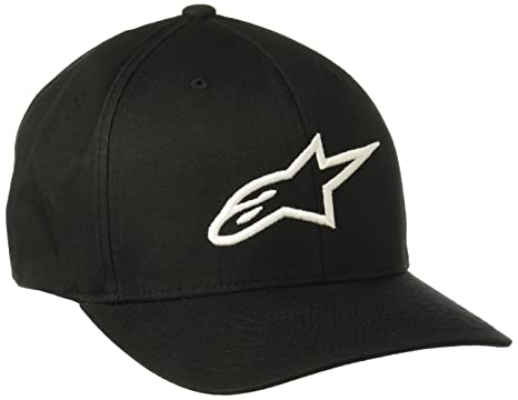Amazon Alpinestars Mens Curved Bill Structured Crown Flex Back