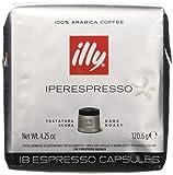 illy Caffè Iperespresso Tostatura Scura -  6 confezioni da 18 capsule (tot 108 Capsule)