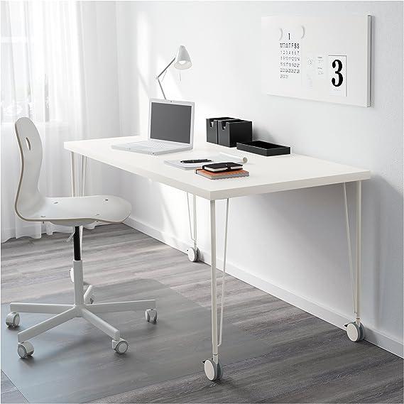 IKEA KRILLE patas de mesa de acero con sistema de bloqueo Caster ...