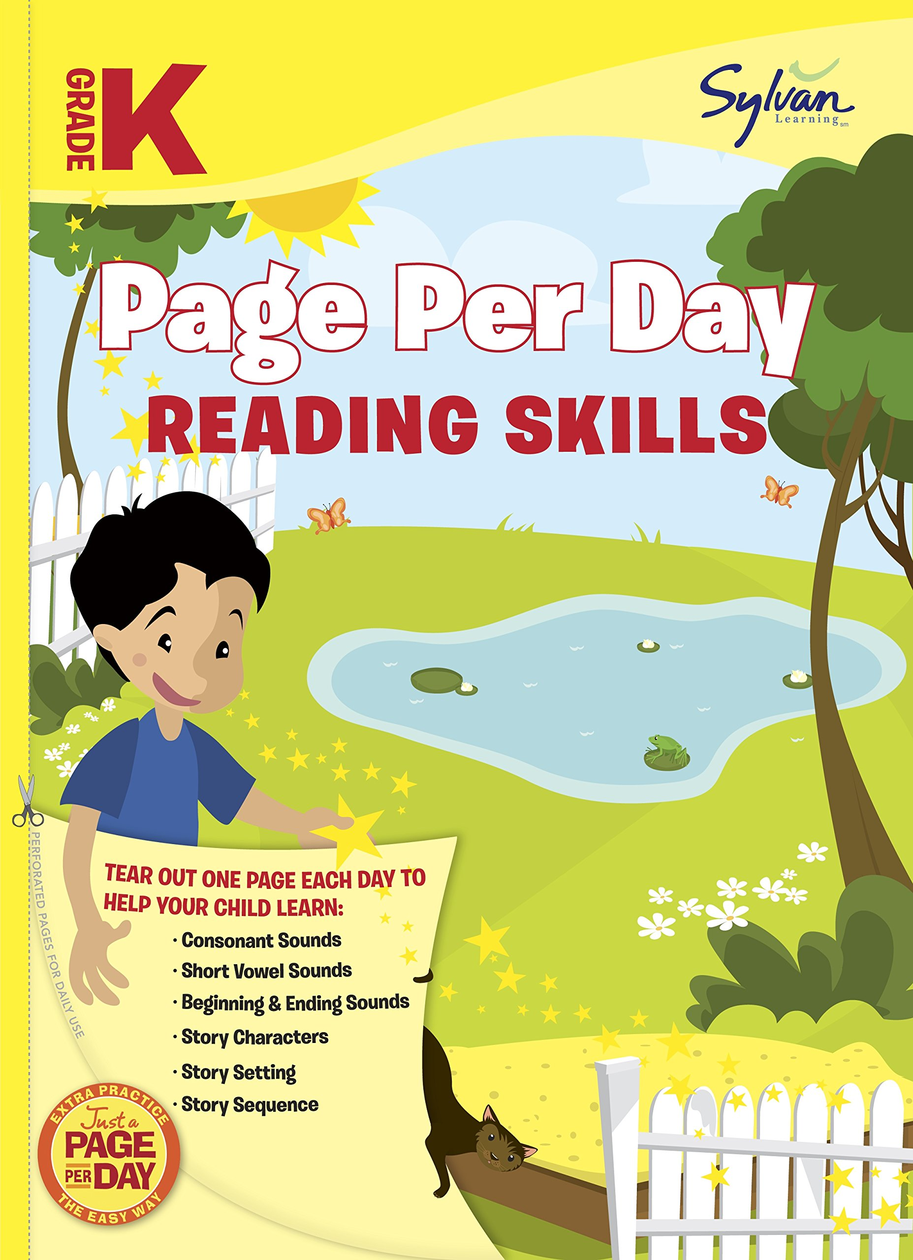 - Amazon.com: Kindergarten Page Per Day: Reading Skills: Consonant