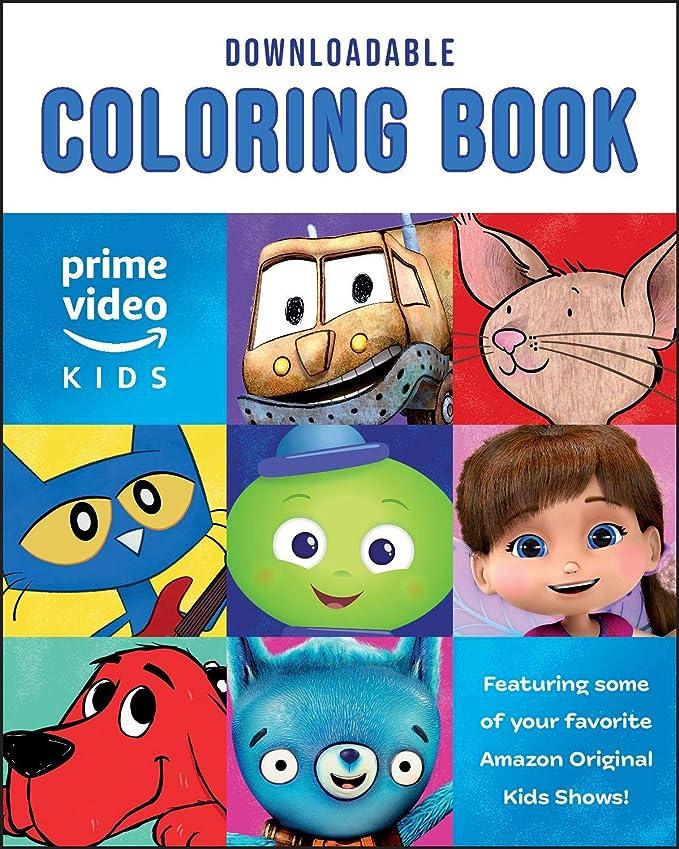 Amazon.com: Amazon Original Kids Shows Downloadable Coloring Book [PC/Mac  Download]: Software