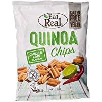 Eat Real Quinoa Chips, Chilli & Lime, 30 gm (Pack of 1)