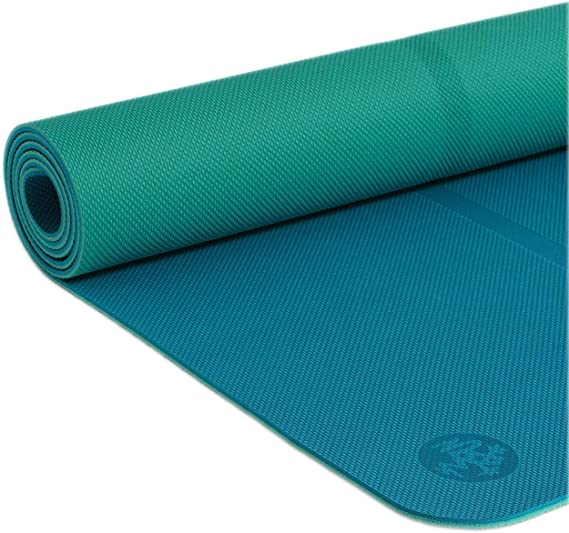 Manduka Begin Yoga Mat – Premium 5mm Thick Yoga Mat with Alignment Stripe. Reversible, Lightweight with Dense Cushioning for Support and Stability in ...