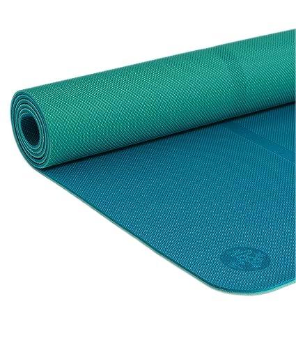 Amazon.com : Manduka Unisex 5 mm Begin Bondi Blue One Size ...