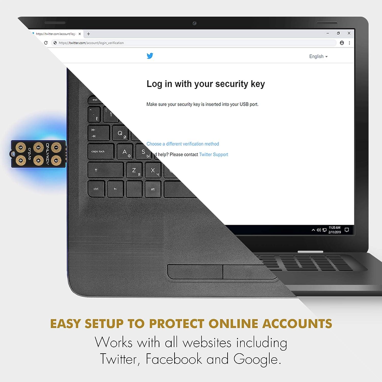 Onlykey - gestor de contraseñas de hardware, 2 factor, comunicación segura (U2F, YubiKey OTP, Google auth, SSH, PGP/GPG) hacen obsoletos los hackers de ...