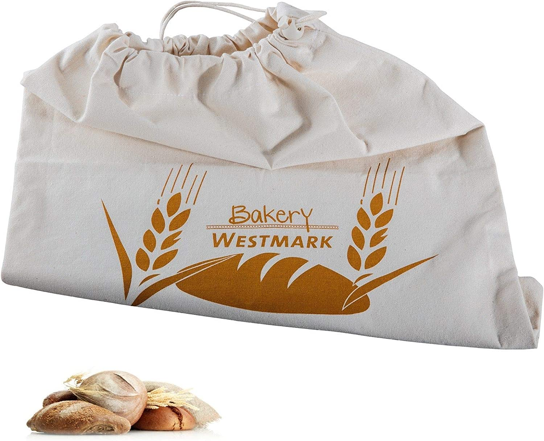 Westmark Pan Bolsa/Bolsa con Cordón, 100% algodón, para el Panera ...