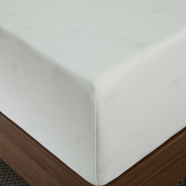 Sleep Innovations 12-Inch SureTemp Memory Foam Mattress Review - Top1Mattress.com
