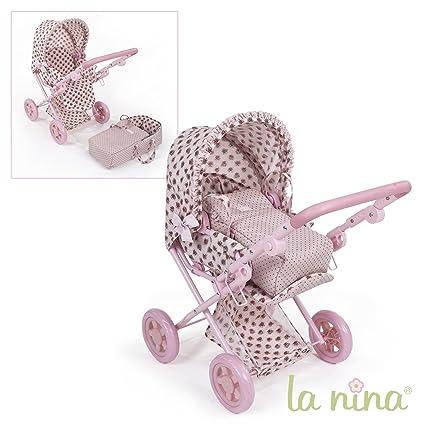 Carro - Cuco Flor Rosa La Nina convertible Silla