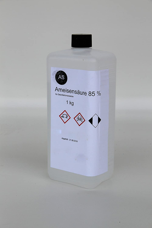 1kg di acido FORMICO 85% per alveare/Apicoltura Apisfarm