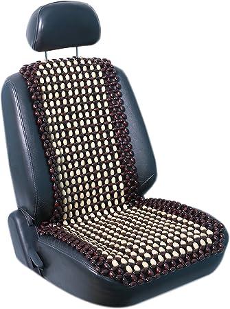 Lacy Wood Holzkugel Holzperlen Massage Sitzauflage Sitzbezug Sitzmatte Sitzaufleger Auto