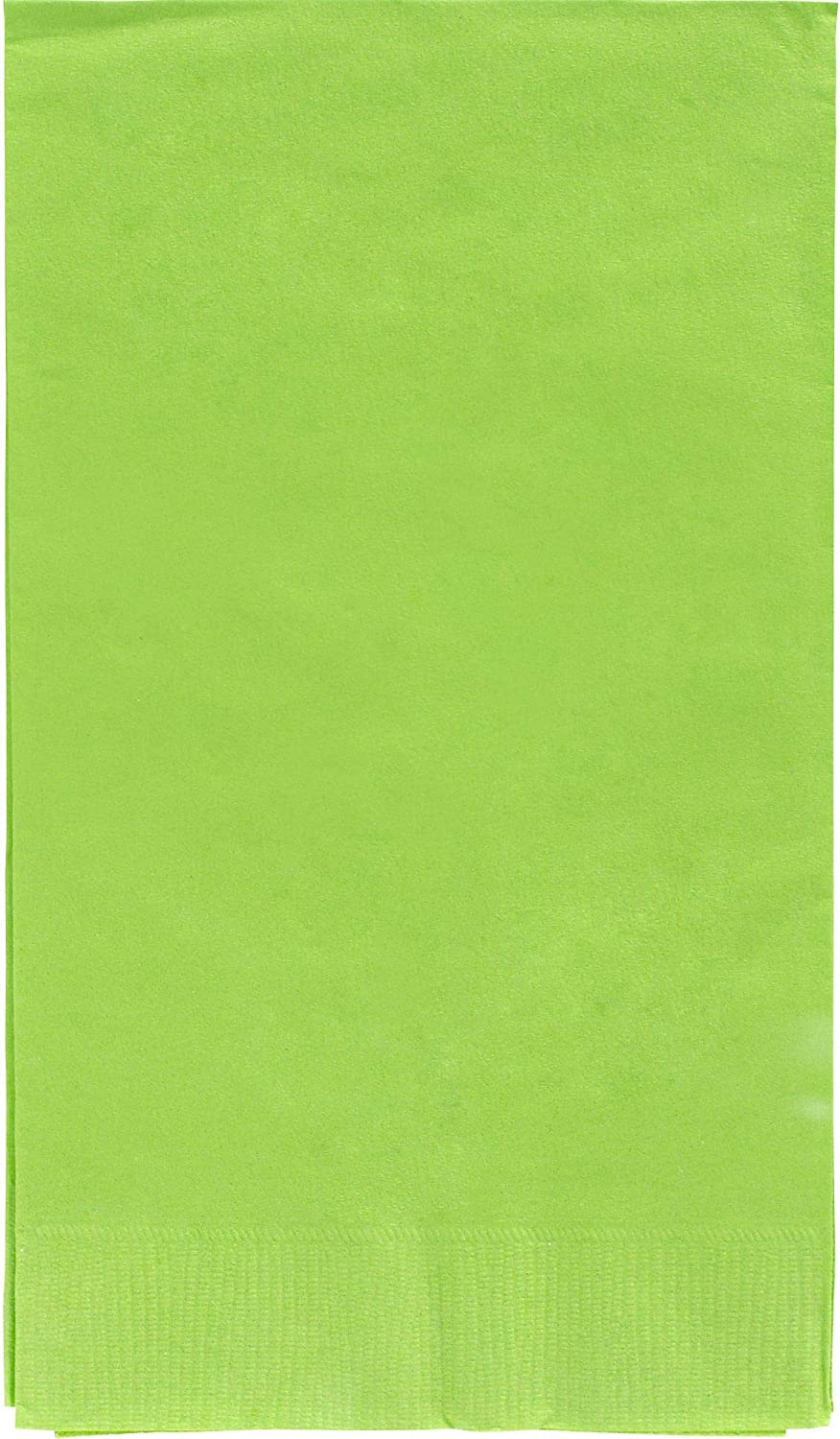 40 Ct. Amscan Silver 2-Ply Paper Guest Towel Big Party Pack