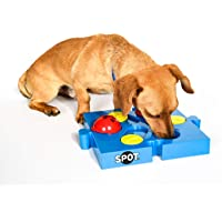 SPOT Seek-a-Treat Flip 'N Slide Treat Dispenser for Dogs   Dog Treat Dispenser   Dog Treat Dispenser Toy   Interactive…