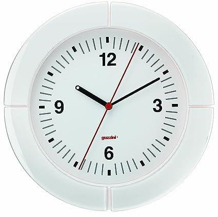 Guzzini 28950011 Arredo Orologio da Parete I- Clock BIANCO NEVE ...