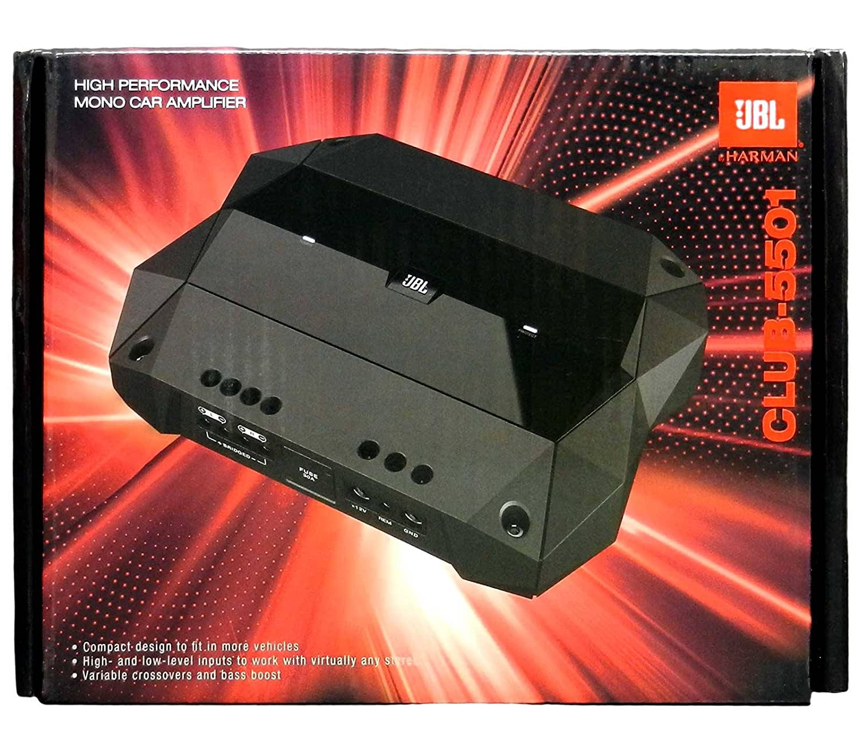 Jbl Club 5501 Monoblock Amplifier 1300w Peak 650w Rms Sra18002 1800w 2 Channel Car Power Amp 4 Gauge Wiring Kit Series Class D Electronics