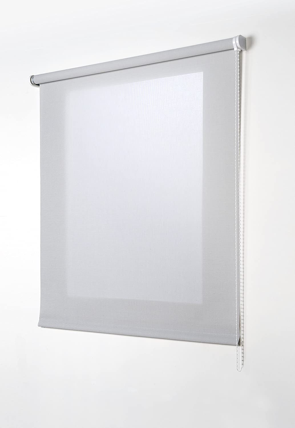 Estores Basic Screen Estor Enrollable, Tela, Gris, 150x180 cm: Amazon.es: Hogar