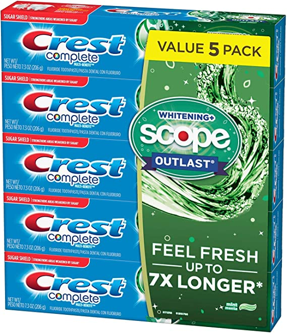 Crest Complete Whitening + Scope Mint Outlast Toothpaste