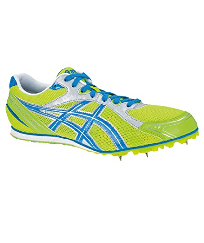 561f8dfea1ce ASICS HYPER Long Distance 4 ES Running Spikes Green  Amazon.co.uk  Shoes    Bags