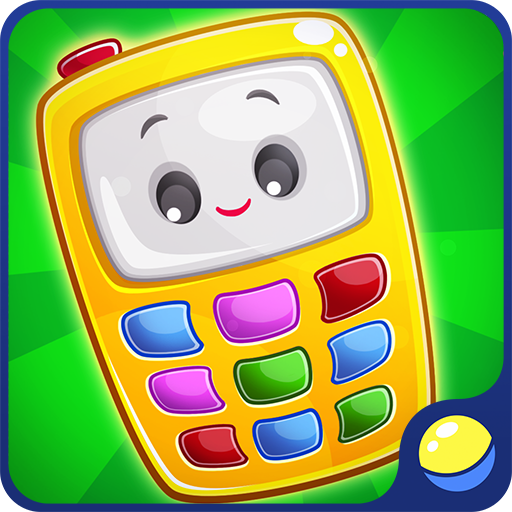 Baby Phone for toddlers – learning and entertaining app for little kids of preschool age to learn wild and domestic animals, animal sounds and voices, and numbers from 0 to 9. Interactive game with music trains fine motor skills, memory and attention