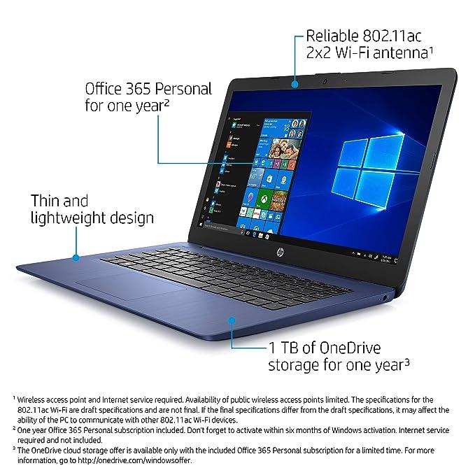 Amazon.com: HP Stream - Ordenador portátil de 14 pulgadas ...